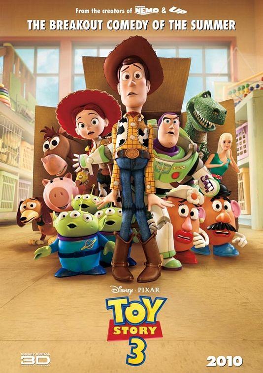 постер История игрушек 3: Большой побег, Toy Story 3