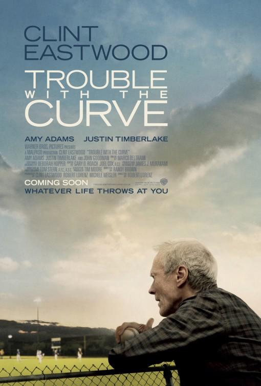 постер Крученый мяч,Trouble with the Curve
