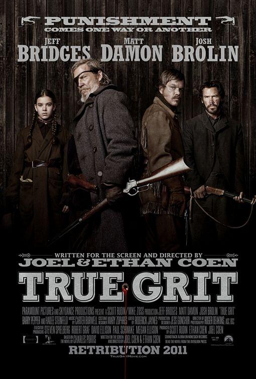 постер Железная хватка,True Grit