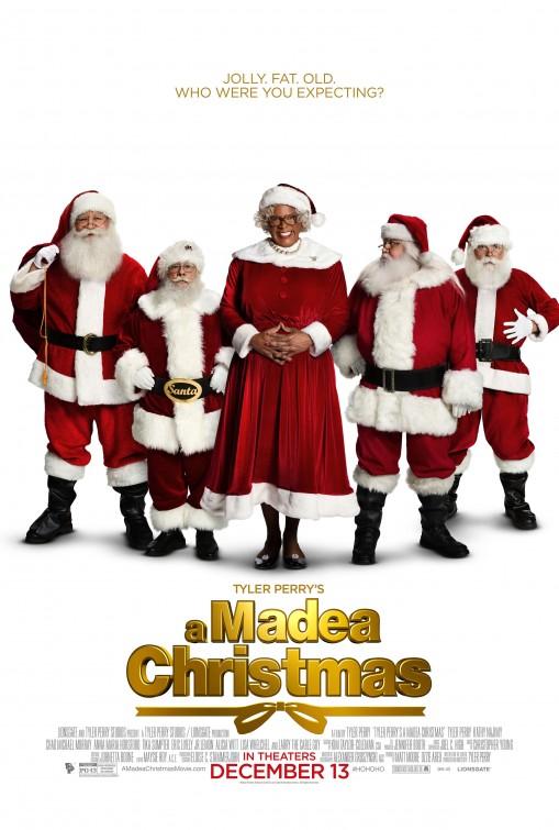 постер Рождество Мэдеи,Tyler Perry's A Madea Christmas