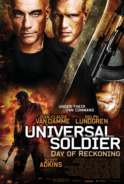 постер Универсальный солдат 4,Universal Soldier: Day of Reckoning