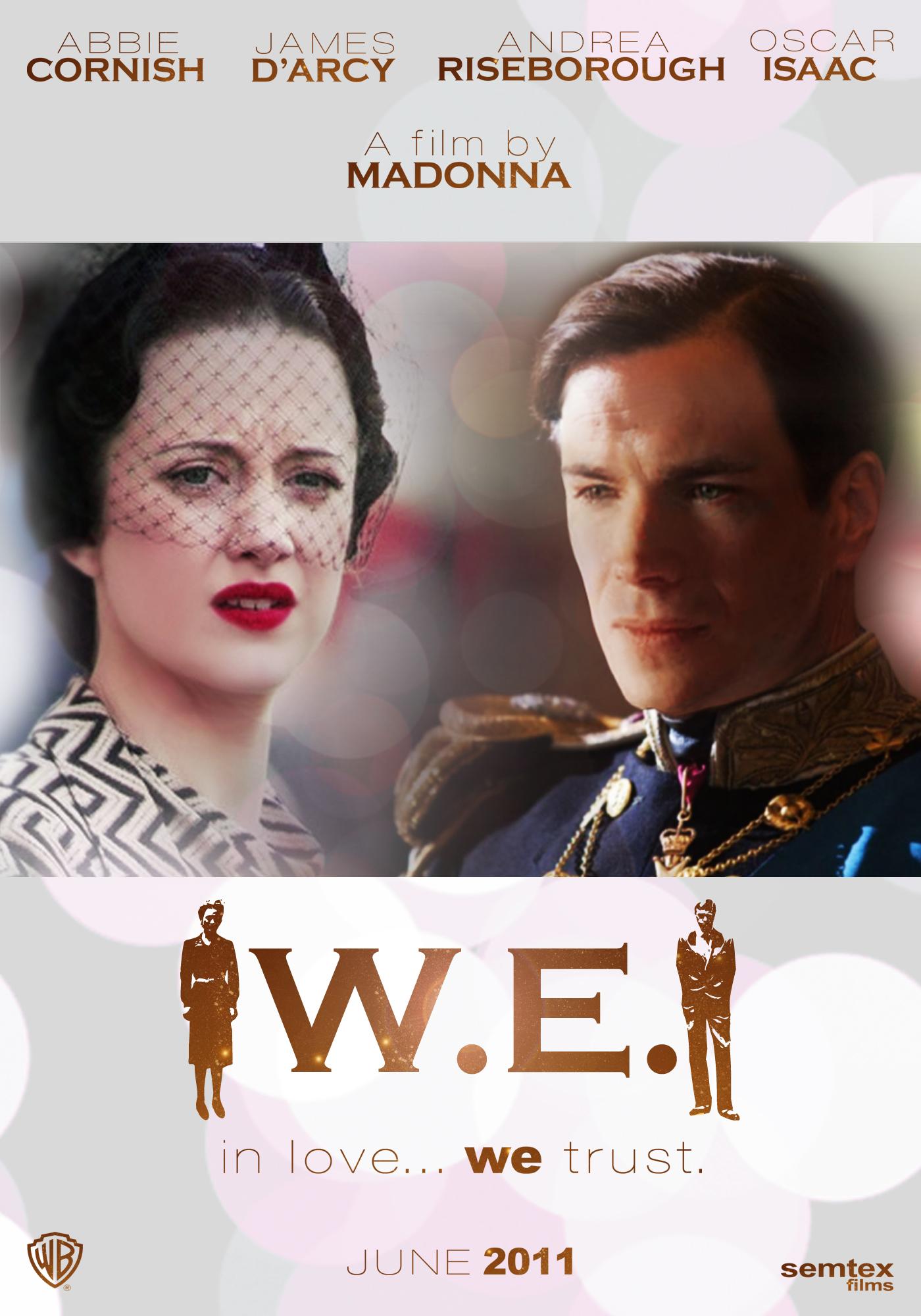 постер МЫ. Верим в любовь,W.E.