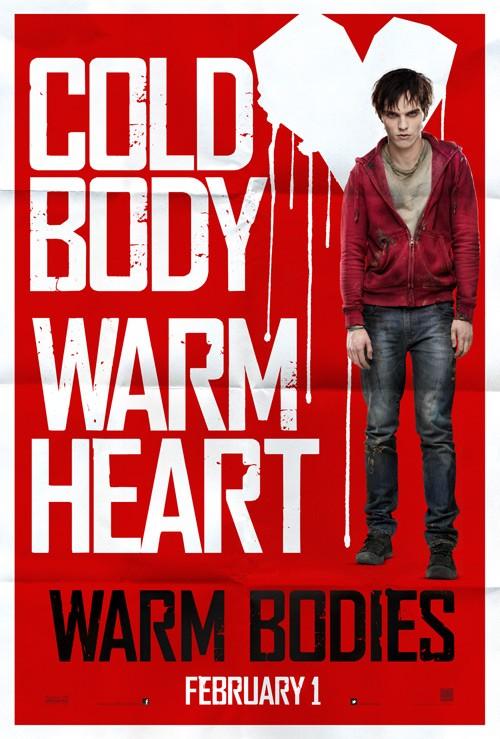 постер Тепло наших тел,Warm Bodies
