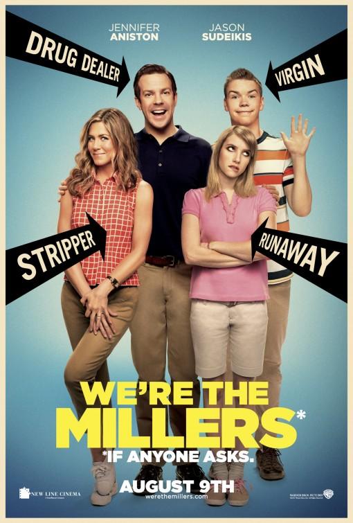 постер Мы – Миллеры,We're the Millers
