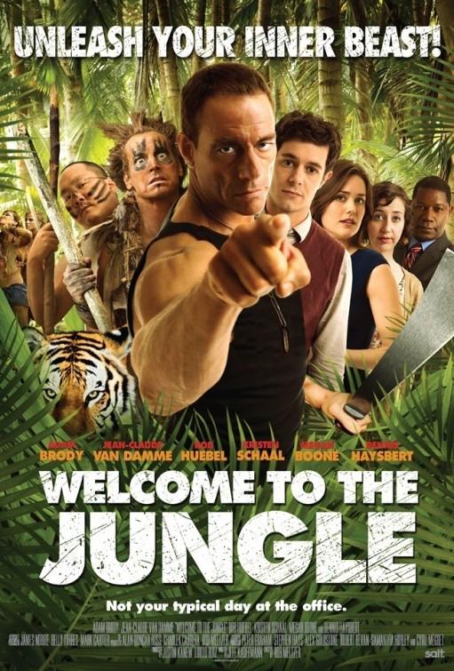 постер Добро пожаловать в джунгли,Welcome to the Jungle