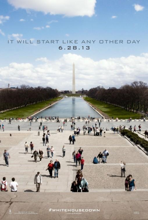 постер Штурм Белого дома,White House Down