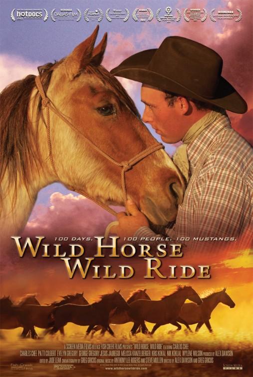 постер Дикий конь, дикая скачка,Wild Horse, Wild Ride