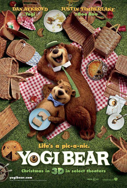постер Медведь Йоги,Yogi Bear