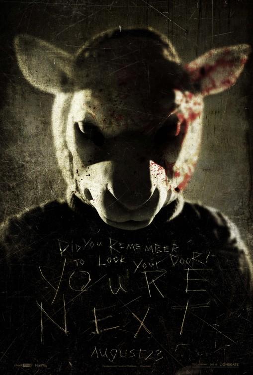 постер Тебе конец,You're Next