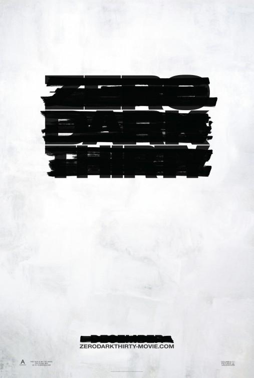постер Цель номер один,Zero Dark Thirty