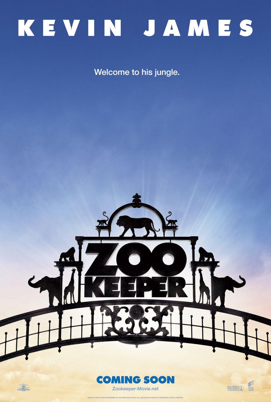 постер Хранитель зоопарка,Zookeeper